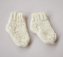 Vilnonės masažinės kojinytės naujagimiui