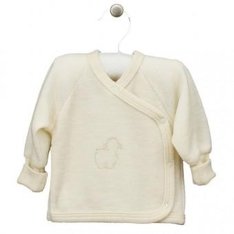 Šilti merino vilnos frotė marškinėliai