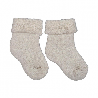 Šiltos merino vilnos frotė kojinytės