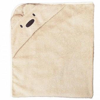 """Medvilninis rankšluostis su gobtuvu """"Bear"""""""