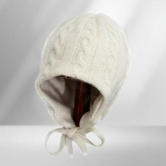 Šilta merino vilnos kepurytė
