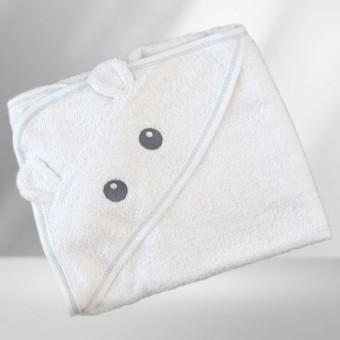 Medvilninis rankšluostis su gobtuvu